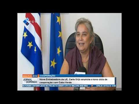 Nova Embaixadora da UE, Carla Grijó anuncia o novo ciclo de cooperação com Cabo Verde