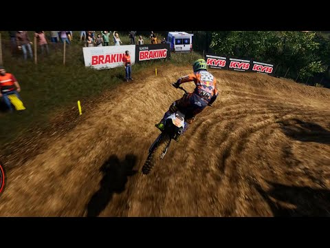 Let's ride some dirt bikes while injured. Let's play mxgp 2019