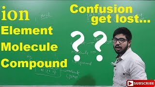 Difference between Molecule and compound and element | Abhishek sahu | in hindi