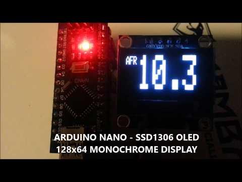 Arduino WBO2 AFR gauge - смотреть онлайн на Hah Life