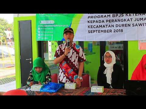 Sosialisasi BPJS Ketenagakerjaan Kelurahan Duren Sawit