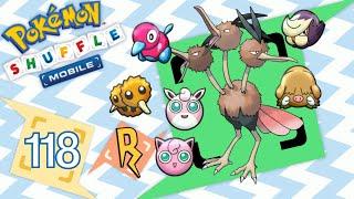 Wigglytuff  - (Pokémon) - Pokémon Shuffle Mobile - ¡DODRIO, WIGGLYTUFF!  [293 - 299]