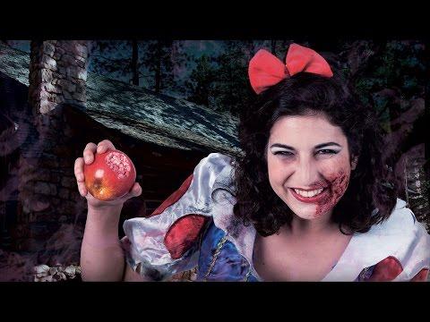 Schreeuwwitje Disney trash Halloween schmink tutorial