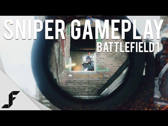 Battlefield 1 Sniper Gameplay Remindes of World War 1's Assassins