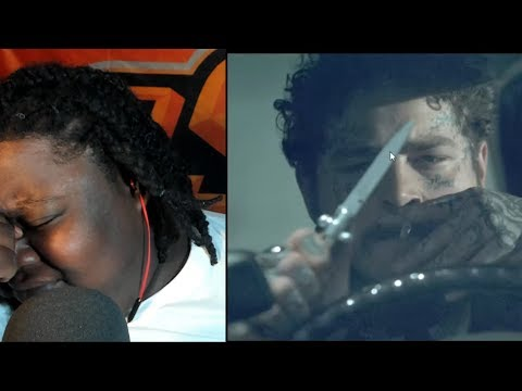 """POST MALONE FYE!!!!!  Post Malone - """"Goodbyes"""" ft. Young Thug (Rated R) REACTION!!!"""