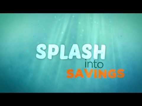 Splash Into Savings