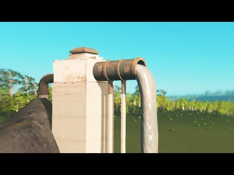 Creating a utopia in Cities Skylines with illegal dumping