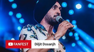 Diljit Dosanjh @ YouTube FanFest Mumbai 2018