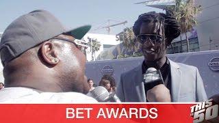 BET Awards Red Carpet 2016