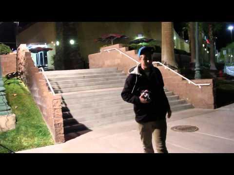 Enzo Cautela - Tre flip 6 Flat 6 (Behind The Scenes)