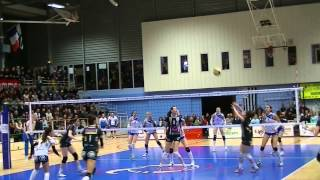 preview picture of video 'Quimper Volley 29 Elite vs calais'