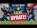 DCUO Character Search Page is Dead - No More Sore