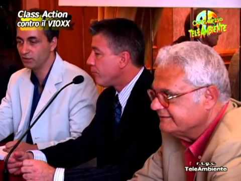 Class Action Contra Il Vioxx - Italian Press Coverage - October 5, 2004 Video Image