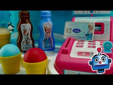 Fábrica de Helados Frozen de Elsa y Anna