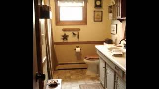 Country Bathroom Home Decor Ideas