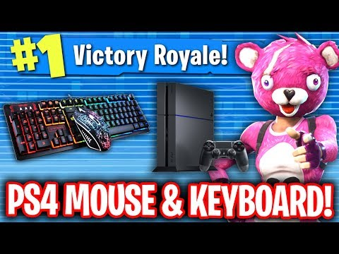 Girl caught me using mouse and keyboard on ps4 fortnite
