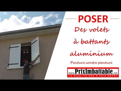 Volets à battants aluminium PRIXIMBATTABLE