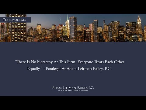 """There Is No Hierarchy at This Firm. Everyone Treats Each Other Equally."" testimonial video thumbnail"