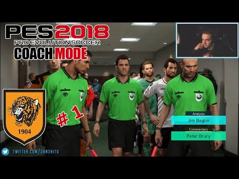#1 Master League - PES 2018 - Coach Mode - Hull City