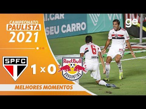 Vídeo / Gol São Paulo 1 x 0 Red Bull Bragantino - Pauilistão 2021!