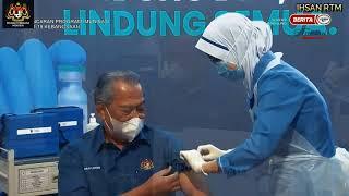 Rangkuman Majlis Pelancaran Program Imunisasi COVID-19 Kebangsaan