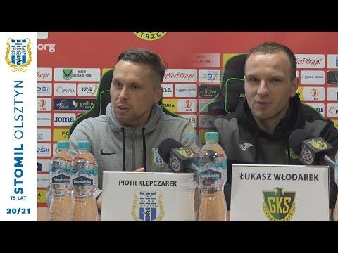 Trenerzy po meczu GKS 1962 Jastrzębie - Stomil Olsztyn 2:0