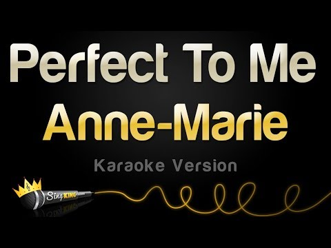 Anne-Marie - Perfect To Me (Karaoke Version) - Sing King Karaoke
