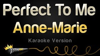 Anne Marie   Perfect To Me (Karaoke Version)