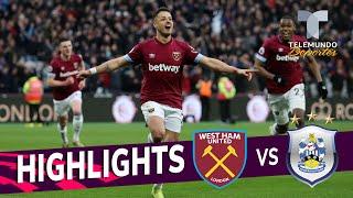 West Ham United vs. Huddersfield Town: 4-3 Goals & Highlights | Premier League | Telemundo Deportes