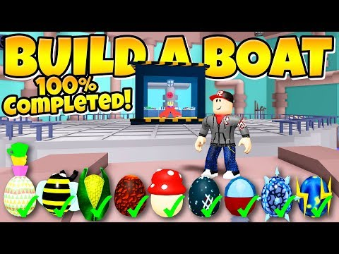 HOW TO GET ALL EGGS In Build a Boat! (+ Boss Egg)