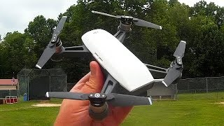 DJI Spark ActiveTrack Trace and Profile Modes Flight Test Review