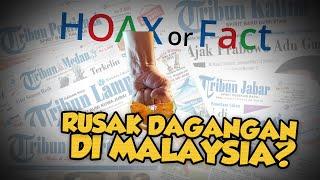 Hoax or Fact: Pedagang Rusak Jeruk Dagangannya di Malaysia karena Rugi Akibat Virus Corona?