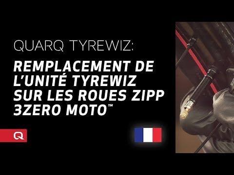 QUARQ: Remplacement du TyreWiz sur les roues ZIPP 3Zero MOTO™