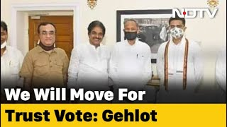 Ashok Gehlot Trust Vote Counter To BJP No-Confidence Motion - Download this Video in MP3, M4A, WEBM, MP4, 3GP