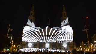 preview picture of video 'Light Night Leeds 2014'