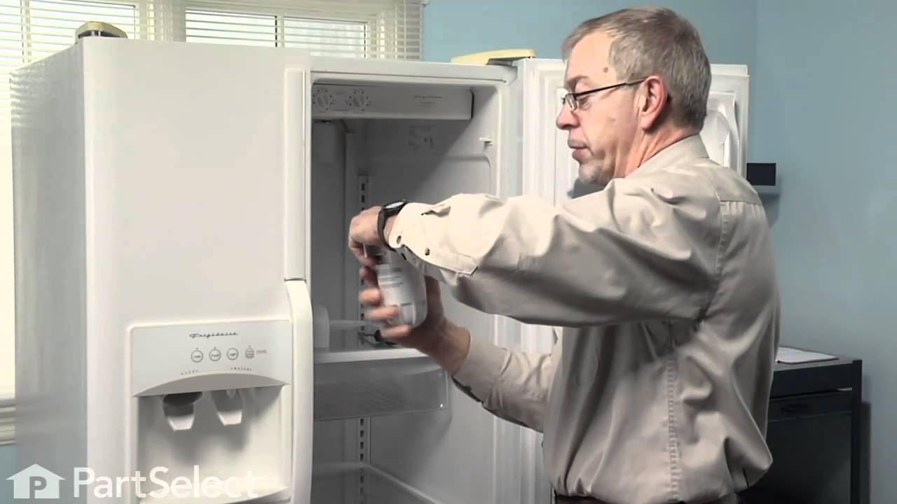 Replacing your Frigidaire Refrigerator Filter Housing