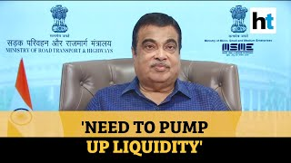 Experts predict budget deficit of Rs 10 lakh crore: Nitin Gadkari  IMAGES, GIF, ANIMATED GIF, WALLPAPER, STICKER FOR WHATSAPP & FACEBOOK