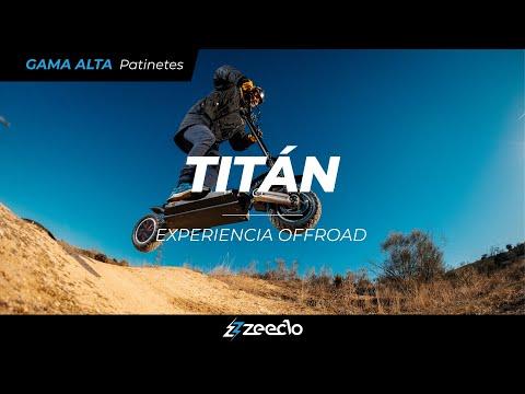 "Patinete eléctrico Titán+ 10"" 20Ah Zeeclo"