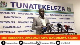 VIDEO: 43,200 wafanyiwa upasuaji Moi tangu mwaka 2015