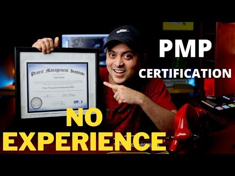 Get your PMP Certification with NO Experience as a Project ...