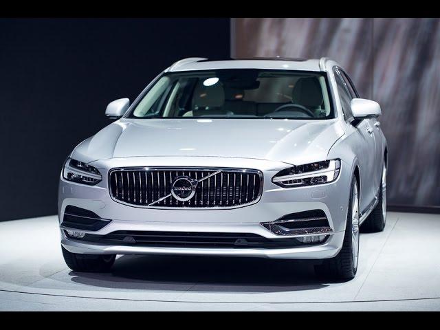 The new Volvo V90 in 360˚