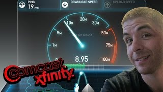 Xfinity Comcast Internet Speedtest - November 20, 2016