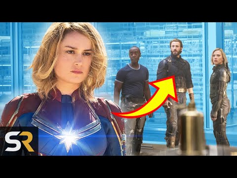This Is How Captain Marvel's Post Credits Scene Ties In With Infinity War And Endgame
