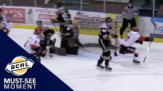 Must See Moment: Stephen Castagna notches 4 goals for Alberni Valley