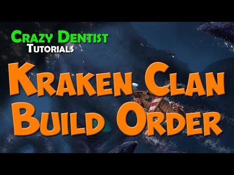 Northgard | Kraken Clan Build Order