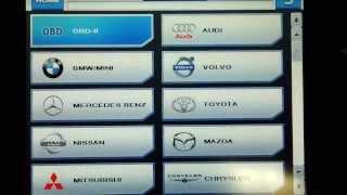 Профессиональный диагностический сканер CARMAN SCAN АТ от компании АвтоСпец - видео