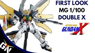 First Look: MG 1/100 Double X (custom paint)