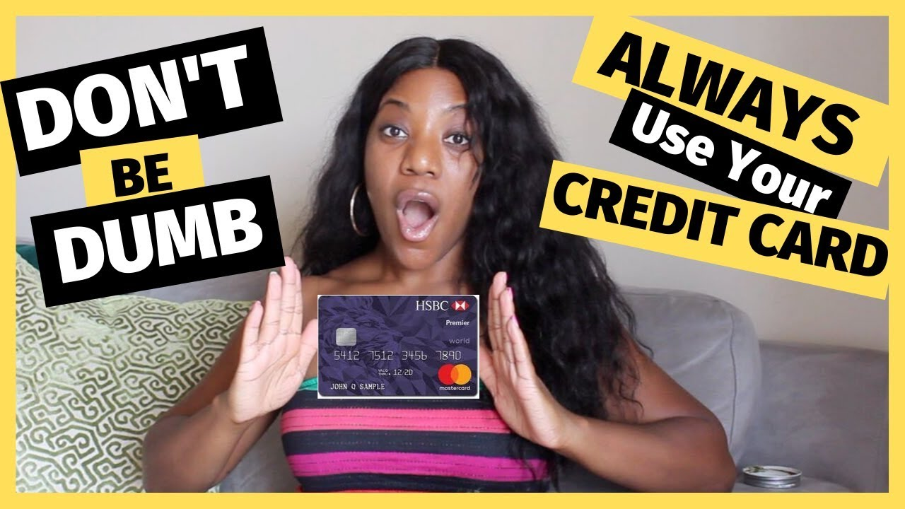 Put everything on CREDIT!|How to utilize a charge card effectively thumbnail