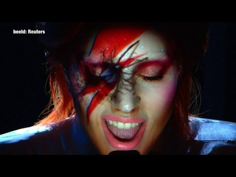 Sjekk Gaga hylle Bowie med kjempe-tribute