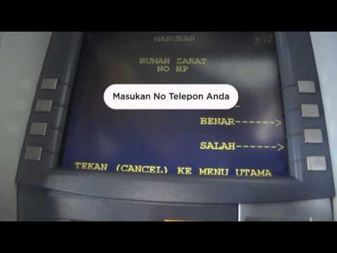 Transaksi Donasi via ATM Mandiri